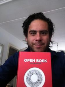 foto open boek